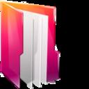 Folders documents icon