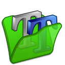 folder green font2 icon