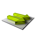 Green Arrows Right icon