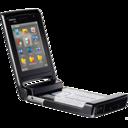 black,phone icon