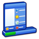 menu, start, taskbar, & icon