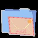b, Cm, Mail icon