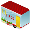 circus,trailer icon