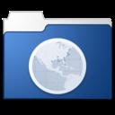 Sites blue icon
