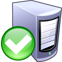 enable,server,computer icon