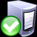 server, enable, computer icon