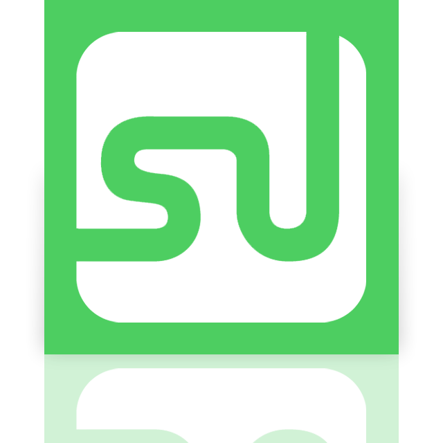 stumbleupon, mirror icon