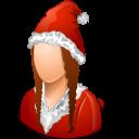 Historical Santa Claus Female icon