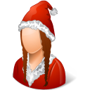santaclaus, female icon