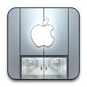 Alt, Apple, Rounded, Store icon