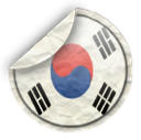 south, korea icon