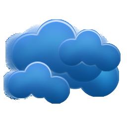 overcast, weezle icon
