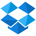 dropbox, storage, social, online, media, network icon