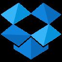 dropbox, storage, social, online, media, network icon
