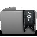 sql, folder icon