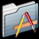 Applications Folder graphite icon