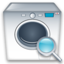 Machine, Washing, Zoom icon