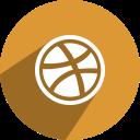 media, social, , dribbble, network icon