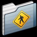 folder, public, graphite icon