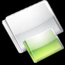 Folder Folders lime icon