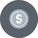 dollar, cash, coin, currency, money icon