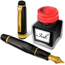 antique, office, draw, pen, paint, writing, ink, edit, pencil, write icon