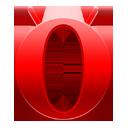 opera, logo, base, mini icon
