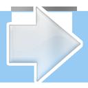 arrow, next, right, forward icon