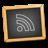 education, teach, learn, subscribe, feed, teaching, blackboard, rss, black, school icon