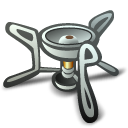 camp,stove icon