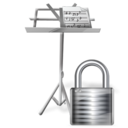 lock,mydocument,locked icon
