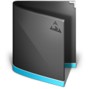 Antares Folder Black icon