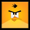 yellow,angrybird,frameless icon