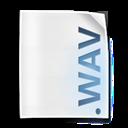 Camill, File, Wav icon