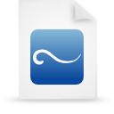 paper, file, document, blue icon