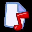 file, document, paper, music icon