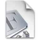 document, file, font, paper icon