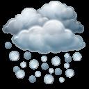 hail, heavy icon