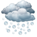 heavy hail, hail, heavy, hailing, shower icon