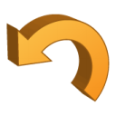 return, undo, reset icon