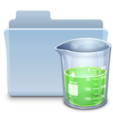 Experiments Folder Badged icon
