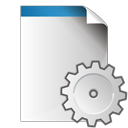 gear, settings, document icon