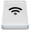 harddisk, disk, drive, wifi icon