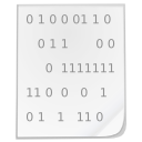 Mimetypes binary icon
