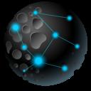 moon, earth, explorer, astroid, planet, globe, internet icon