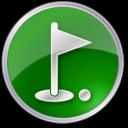 golfclub,green icon