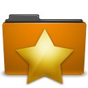 star, favorite, bookmark, folder icon