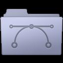 Vector Folder Lavender icon