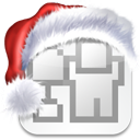 media, xmas, social, bookmark, christmas, digg icon
