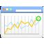 seo, 64, analytics icon